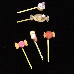 Life is Sweet Kawaii Candy Bobby Pins